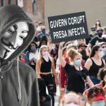 Gunoaiele din presa si protestul de la Neamt